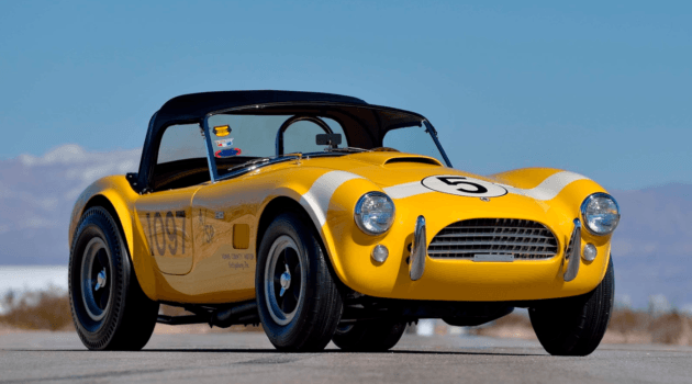 1965 SHELBY COBRA 289 FACTORY STAGE III DRAGONSNAKE CSX 2427