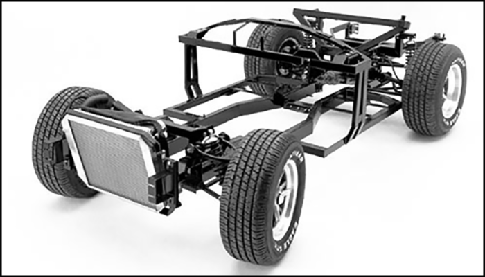 Superformance chassis for the MKIII models - Front Outline