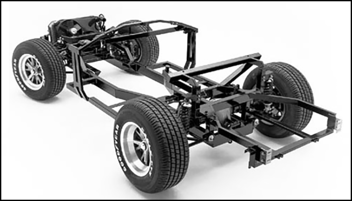 Superformance chassis for the MKIII models - Rear Outline