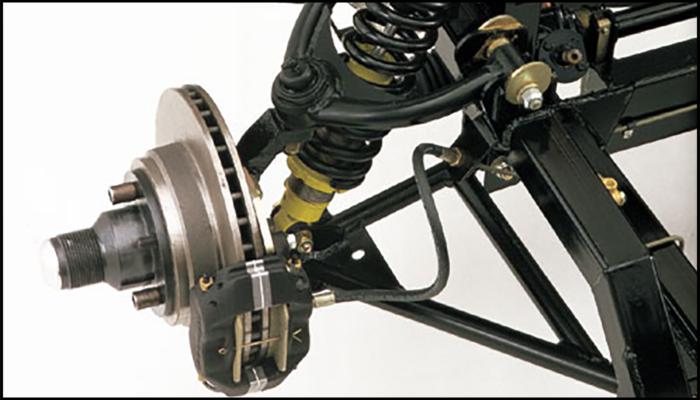 Superformance suspension for the MKIII models - Front Outline