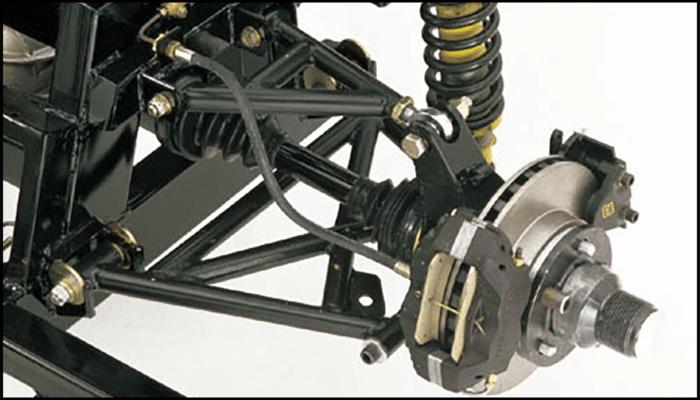 Superformance suspension for the MKIII models - Rear Outline