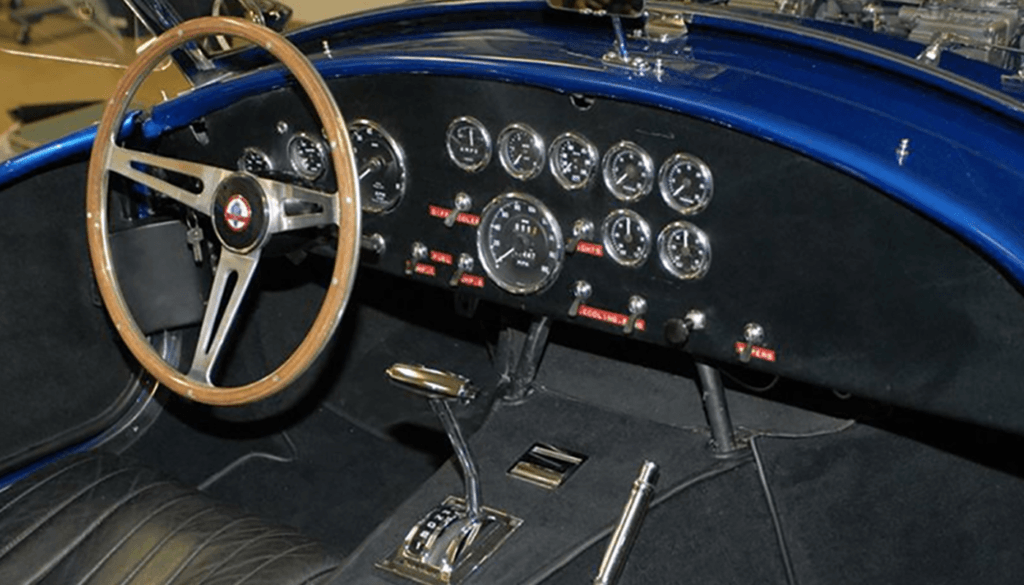 CSX3015 Shelby Cobra Super Snake - Interior
