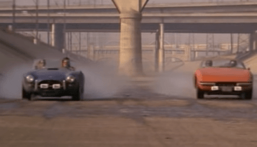 1966 Shelby Cobra vs 1974 Ferrari Daytona - Movie: Gumball Rally '76